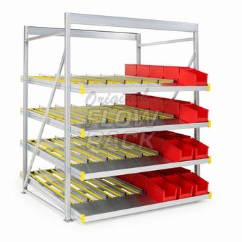 Standard flow rack bay width 1390 mm