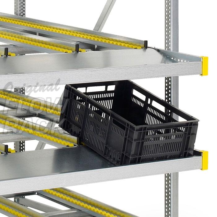 Flow rack CBL-version bay width 1390 mm