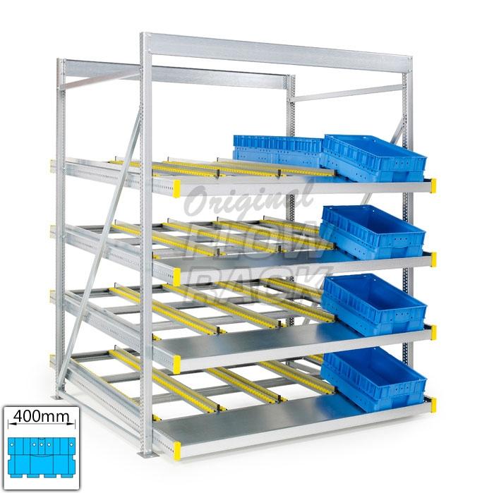 Flow rack KLT-version bay width 1790 mm
