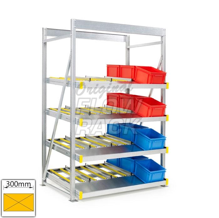 Kanban stationary flow rack