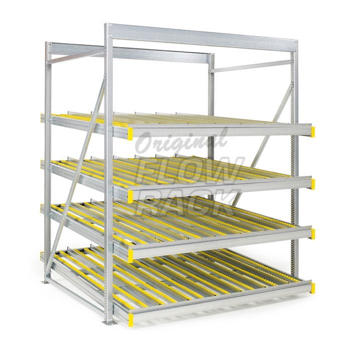 Standard flow rack bay width 1790 mm