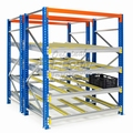 Flow shelves CBL-version for pallet racks double depth