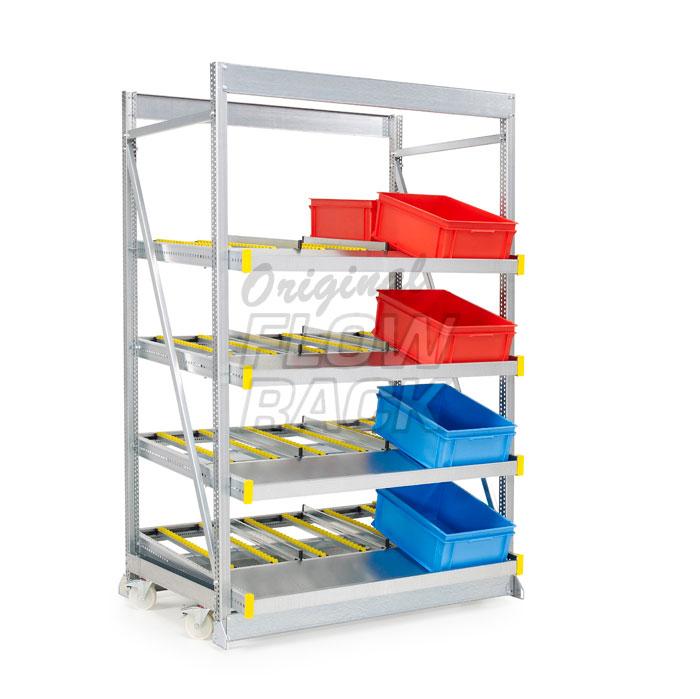 Kanban JIT LEAN assembly rack disadvantage
